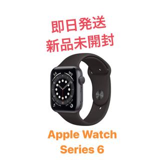 アップル(Apple)の【新品未開封】Apple Watch Series 6 44mm Series6(腕時計(デジタル))