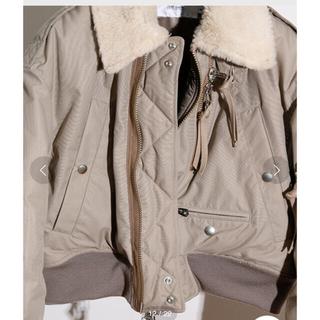 ビューティアンドユースユナイテッドアローズ(BEAUTY&YOUTH UNITED ARROWS)の美品 jane smith military boa jacket(ミリタリージャケット)