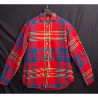 ブルネロクチネリ(BRUNELLO CUCINELLI)の[美品]paolo bottazzi チェックシャツ ネルシャツ イタリア製 L(シャツ)