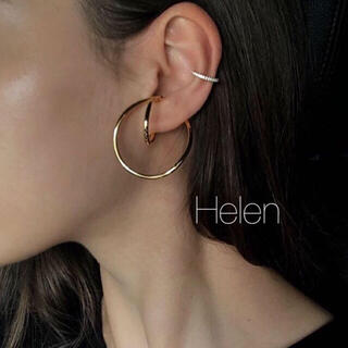 gold loop ear cuff