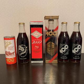 コカコーラ(コカ・コーラ)のコーラ 100周年記念ボトル ゴールドラベル 非売品 未開封 レア 他(ノベルティグッズ)