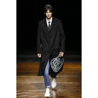 ディオールオム(DIOR HOMME)の【最終値下げ】Dior homme 14aw 薔薇コート(チェスターコート)