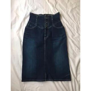 エディットフォールル(EDIT.FOR LULU)のdenim skirt ♡(ひざ丈スカート)