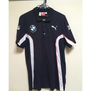 プーマ(PUMA)のプーマ BMW ポロシャツ ネイビー 派手 メンズ M 美品(ポロシャツ)