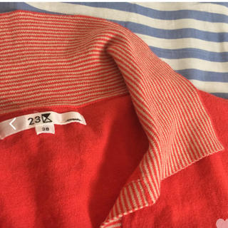 ニジュウサンク(23区)のサマーセーター(カットソー(半袖/袖なし))