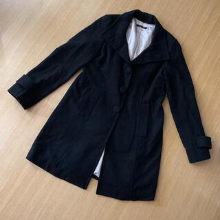 イング(INGNI)のINGNI ウールコート ブラック(ピーコート)