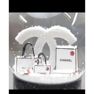 CHANEL - ☆CHANEL ノベルティ スノードーム 2019クリスマス限定☆
