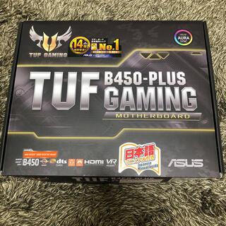 エイスース(ASUS)の新品未使用品 ASUS マザーボード TUF B450-PLUS GAMING(PCパーツ)