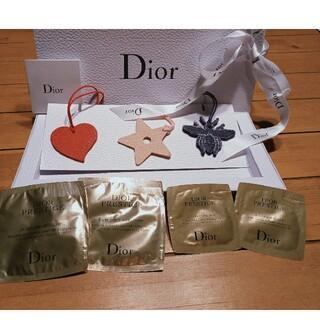 クリスチャンディオール(Christian Dior)のChristian Dior 未使用品 ノベルティ 限定ストラップ(チャーム)