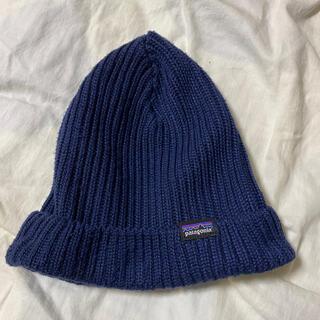 パタゴニア(patagonia)のパタゴニア ニット帽 ネイビー(ニット帽/ビーニー)