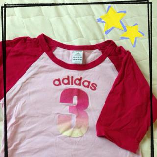 アディダス(adidas)のadidasTシャツ☆(Tシャツ(長袖/七分))
