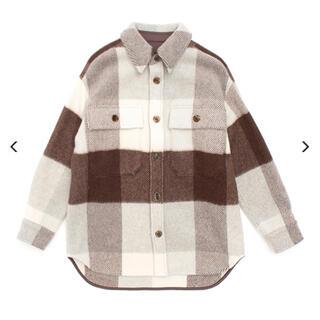 PHEENY - pheeny Big block check CPO jacket