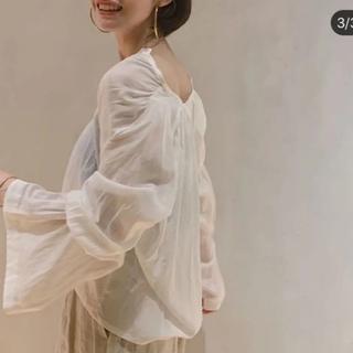 プラージュ(Plage)の今期美品 enrica エンリカ flare sleeve ブラウス(シャツ/ブラウス(長袖/七分))