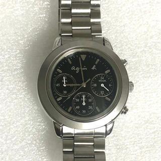 アニエスベー(agnes b.)のアニエスベー クロノグラフメンズ腕時計(腕時計(アナログ))