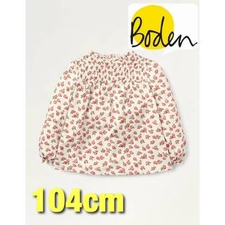 ボーデン(Boden)の【Mini Boden】ミニボーデン  フローラル スモックトップス(Tシャツ/カットソー)