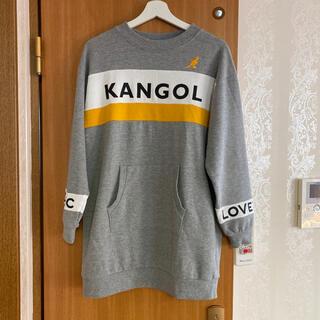 ラブトキシック(lovetoxic)のLovetoxic ✖️ Kangol  コラボワンピース(L)(ワンピース)