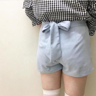 ロキエ(Lochie)のバックリボン ショートパンツ ♡ rili tokyo(ショートパンツ)