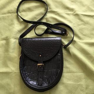 マルベリー(Mulberry)の英国の名門鞄マニフクチュアラーmulberryのクロコ型押ミニショルダーバッグ(ショルダーバッグ)