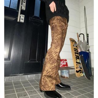 ジョンローレンスサリバン(JOHN LAWRENCE SULLIVAN)の80s Python flare pants (その他)