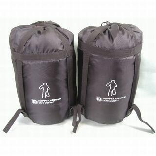 ドッペルギャンガー(DOPPELGANGER)の【未使用】ドッペルギャンガー 人型寝袋 2枚セット(寝袋/寝具)