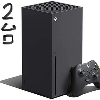 エックスボックス(Xbox)の即支払い限定 2台セット XBOX SERIES X本体(家庭用ゲーム機本体)