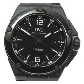 インターナショナルウォッチカンパニー(IWC)の☆良品 IWC インヂュニア AMGブラック IW322503 メンズ 【中古】(腕時計(アナログ))