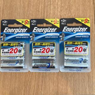 エナジャイザー(Energizer)の【新品】エナジャイザー 世界一長持ちする 単3リチウム乾電池 (その他)