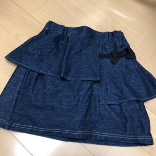 クミキョク(kumikyoku(組曲))のクミキョク キッズ130サイズ スカート風ショートパンツ美品(パンツ/スパッツ)