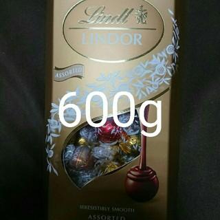 リンツ(Lindt)の1箱 600g リンツリンドールチョコレート アソート詰め合わせ(菓子/デザート)