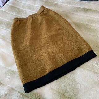 サンローラン(Saint Laurent)のYSL ニットスカート(ひざ丈スカート)