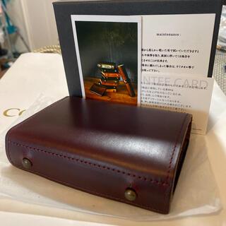 イルビゾンテ(IL BISONTE)のエムピウ オールレザー エルク ミッレフォッリエ m+(折り財布)