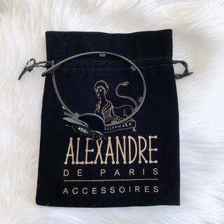 アレクサンドルドゥパリ(Alexandre de Paris)のアレクサンドルドゥパリ カメリアカチューシャ黒(カチューシャ)