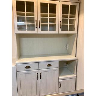 ニトリ(ニトリ)のニトリ 食器棚 キッチンボード ミランダ(キッチン収納)