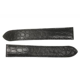 カルティエ(Cartier)のカルティエ  ラグ幅 18mm ブラック   ボーイズ 【中古】(レザーベルト)