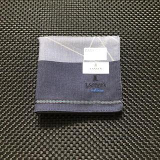 ランバンオンブルー(LANVIN en Bleu)のランバン ランバンオンブルー 紳士 メンズ ハンカチ(ハンカチ/ポケットチーフ)