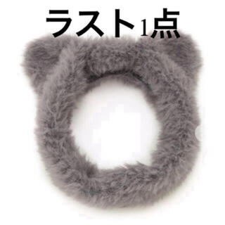 ジェラートピケ(gelato pique)のジェラートピケ♡ 【Halloween限定】ネコモコヘアバンド(ヘアバンド)