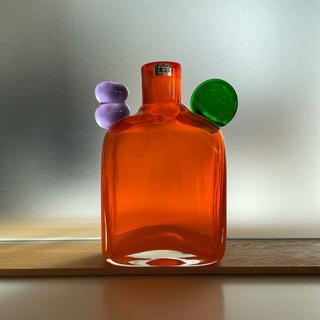 アラビア(ARABIA)のSALE Pampula bottle N526 レッド (花瓶)