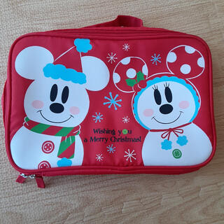 ディズニー(Disney)のDisney ミッキー ミニー クリスマス 雪だるま ポーチ(ポーチ)
