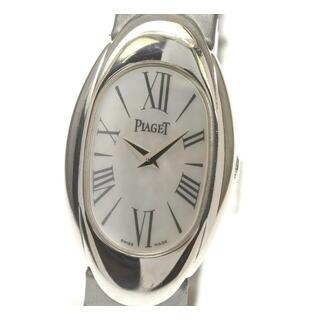 ピアジェ(PIAGET)のピアジェ ライムライト オーバル P10001 レディース 【中古】(腕時計)