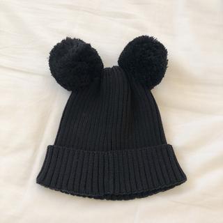 ボボチョース(bobo chose)のminirodini ポンポンニット帽 新品(帽子)