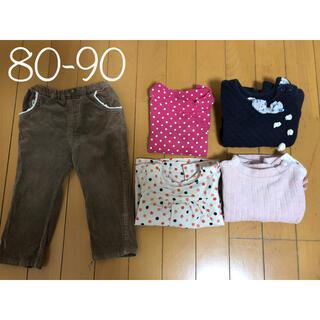 ベビーギャップ(babyGAP)の秋冬女児80-90サイズまとめ売り(その他)