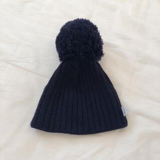キャラメルベビー&チャイルド(Caramel baby&child )のSATILA ニット帽 北欧 グレー(帽子)