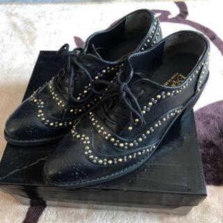 エスペランサ(ESPERANZA)のエスペランサ スタッズ 皮used🎶(ローファー/革靴)