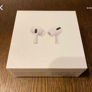 アップル(Apple)のApple AirPods Pro  10月31日購入新品未開封(ヘッドフォン/イヤフォン)