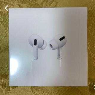 アップル(Apple)のAirPods Pro 国内正規品 新品未使用 型式:MWP22AM(ヘッドフォン/イヤフォン)