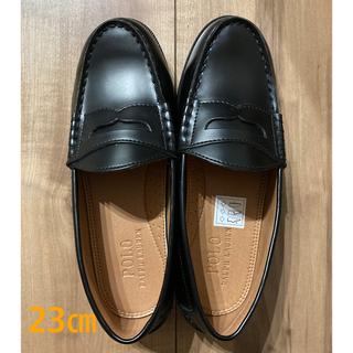 ポロラルフローレン(POLO RALPH LAUREN)のポロ・ラルフローレン ローファー 黒 23(ローファー/革靴)