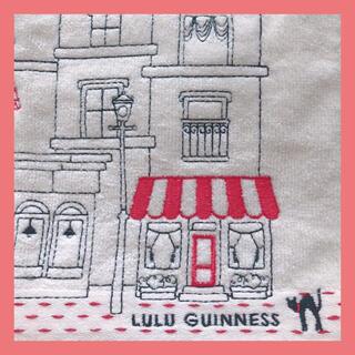 ルルギネス(LULU GUINNESS)の【新品】ルルギネス ハンカチ タオルハンカチ(ハンカチ)