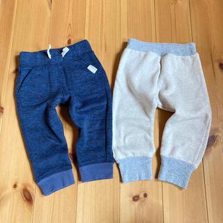 ニシマツヤ(西松屋)のスウェットパンツ 2本セット 西松屋 80サイズ(パンツ)