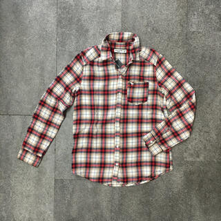 アバクロンビーアンドフィッチ(Abercrombie&Fitch)の新品未使用アバクロのネルシャツ(シャツ/ブラウス(長袖/七分))