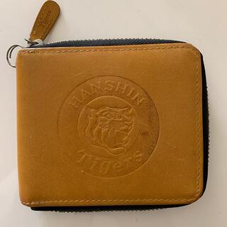 ハンシンタイガース(阪神タイガース)の激レア 阪神タイガース 本革財布(折り財布)